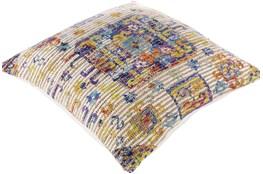 Accent Pillow-Jute Boho Multi Color 26X26