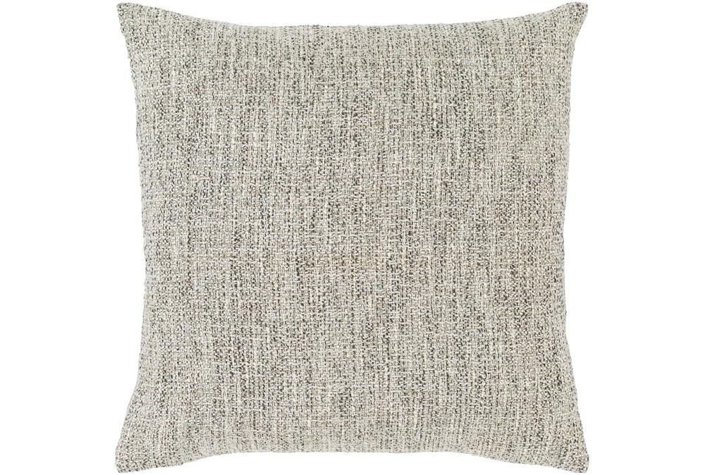 Accent Pillow-Metallic Tweed Grey 18X18