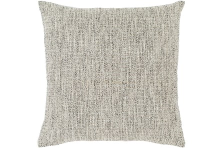 Accent Pillow-Metallic Tweed Grey 18X18 - Main
