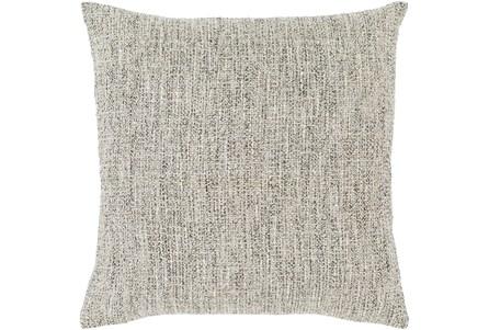 Accent Pillow-Metallic Tweed Grey 18X18 - Main