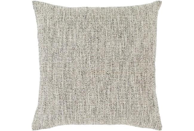 Accent Pillow-Metallic Tweed Grey 18X18 - 360