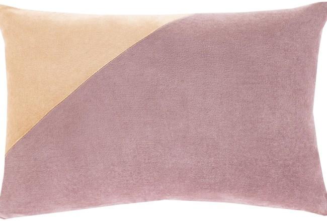 Accent Pillow-Color Block Lilac 13X20 - 360