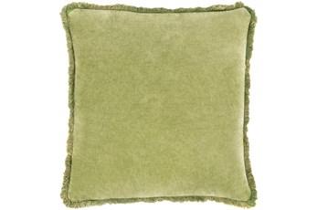 Accent Pillow-Brush Fringe Apple 18X18