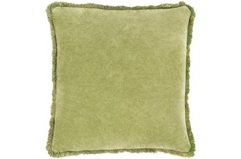 Accent Pillow-Brush Fringe Apple 22X22
