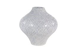 White 14 Inch Porcelain Vase