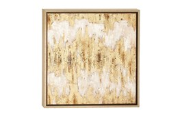 Beige 24 Inch Framed Canvas Art