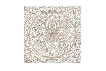 Brown 36 Inch Wood Wall Panel