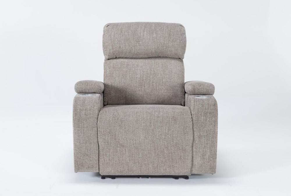 Frazier Stone Power Wallaway Recliner Recliner With Power Headrest