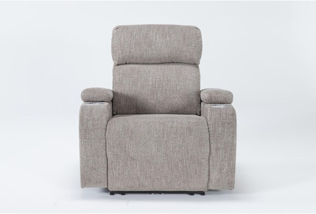 Frazier Stone Power Wallaway Recliner Recliner With Power Headrest - 360