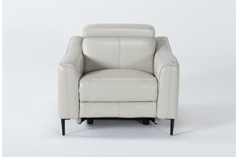 Lorenzo Ivory Power Recliner