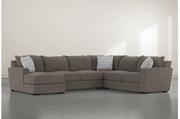 "Aidan IV 4 Piece 142"" Sectional With Left Arm Facing Chaise"