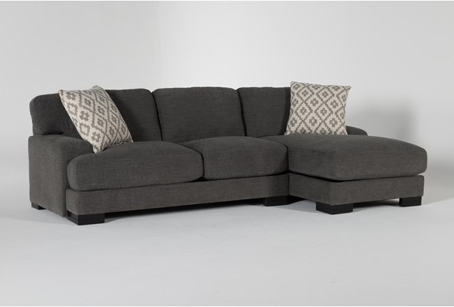 """Aidan IV 2 Piece 111"""" Sectional With Right Arm Facing Chaise - 360"""