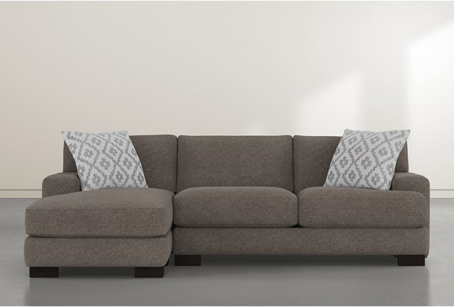 """Aidan IV 2 Piece 111"""" Sectional With Left Arm Facing Chaise - 360"""