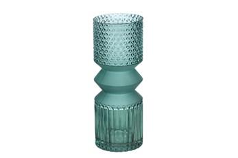 Ml 12 Inch Turquoise Mallet Vase