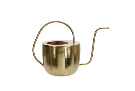 Cl Gold 11 Inch Flat Top Watering Can - Main
