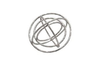 Ml 11Inch Silver Armillary Orb