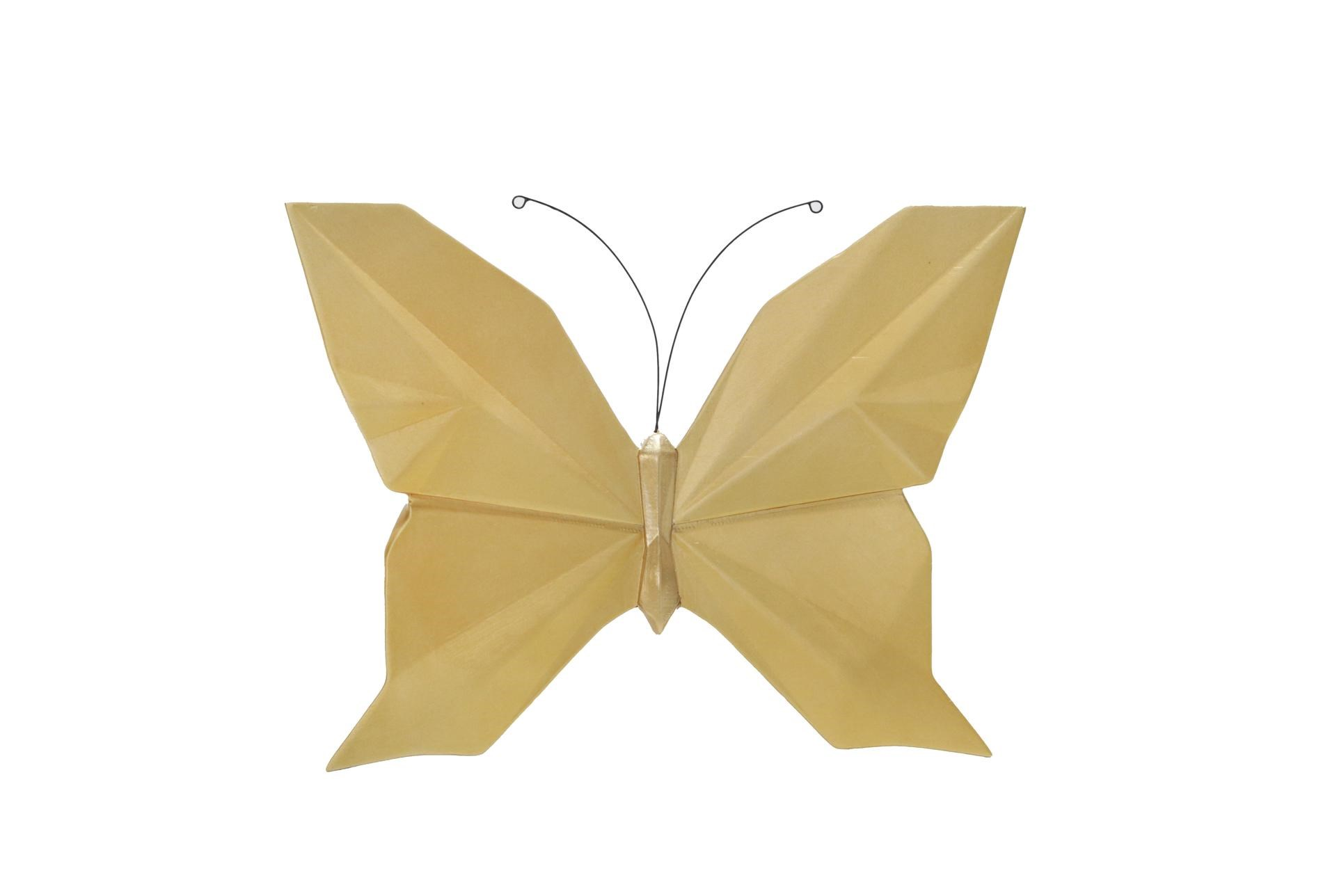 Origami Butterfly Wall (With images) | Butterfly origami wall ... | 1288x1911