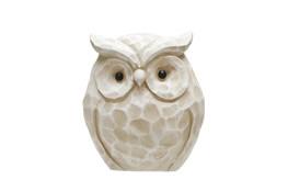 14 Inch White Owl Figurine