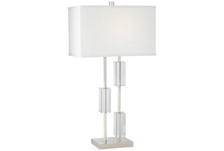 Table Lamp-Three Crystal Rectangles - Main