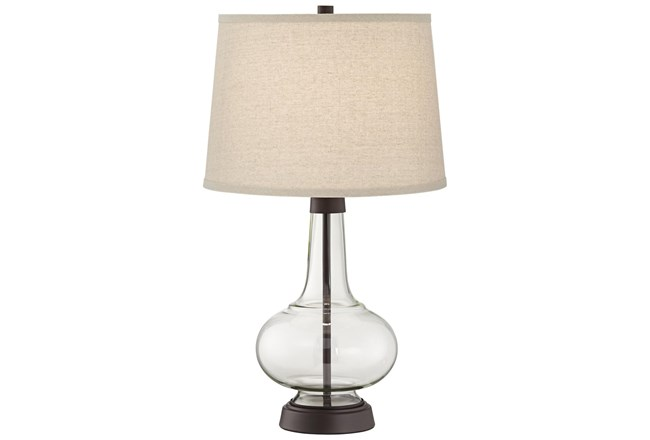 Table Lamp-Clear Glass Lamp  - 360