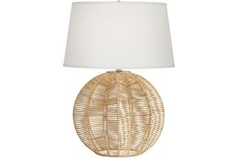 Table Lamp-Circular Cage