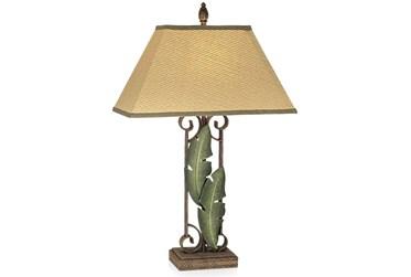 Table Lamp-Banana Leaves