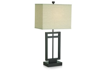 Table Lamp-Cut Out Square