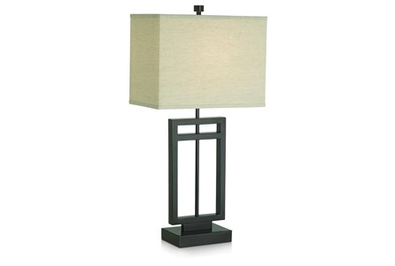 Table Lamp-Cut Out Square - Main