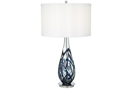 Table Lamp-Indigo Swirl - Main