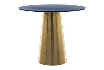 Gold Cone Accent Table