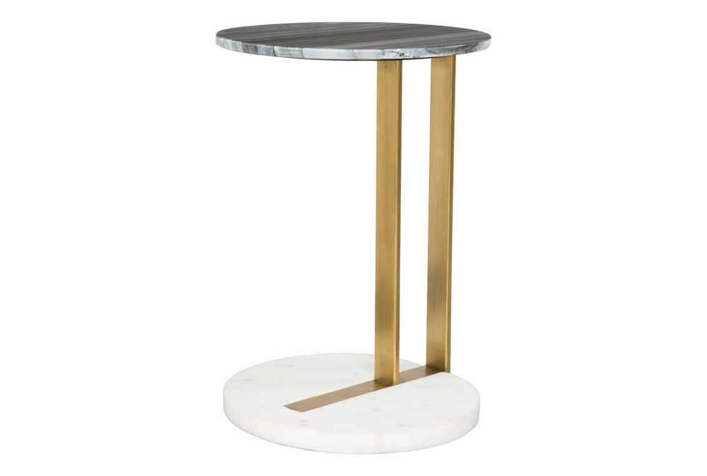 Gold + Silver C Table