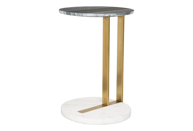 Gold + Silver C Table - 360