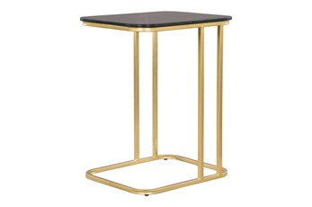 Black + Gold C Table
