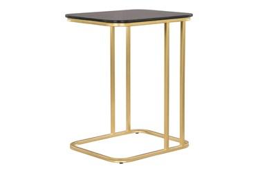 Black + Gold C Table