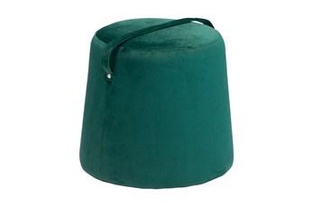 Hunter Green Small Ottoman