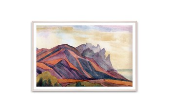 Picture-Mountain Illustration 60X40