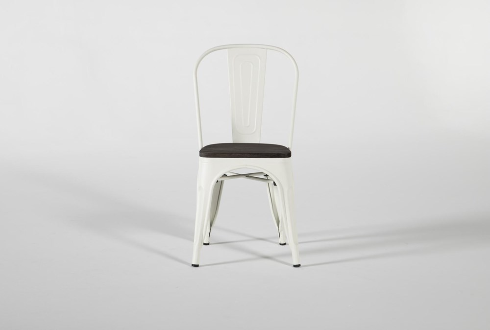 Delta White Dining Side Chair