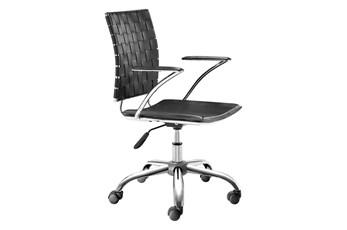 Black Criss Cross Office Chair