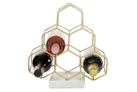 Aluminum Marble Wine Holder 9