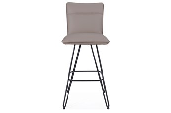 Demi Taupe Bar Stool Set of 2