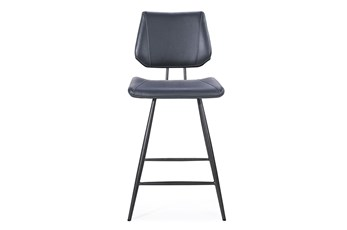Vinson Cobalt Counter Stool Set of 2