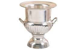 10 Inch Silver Wine Holders Brass Silver Plated Wine Bucket