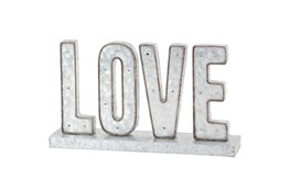 "Mtl Led Love Sign 20""W, 12""H"