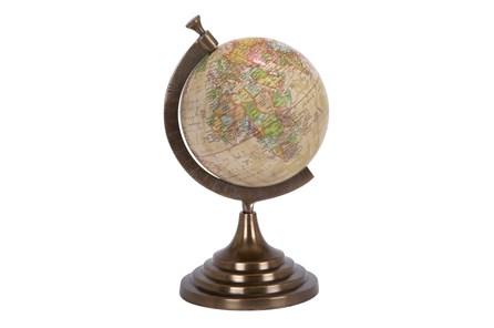 15 Inch Multi Aluminum Globe - Main
