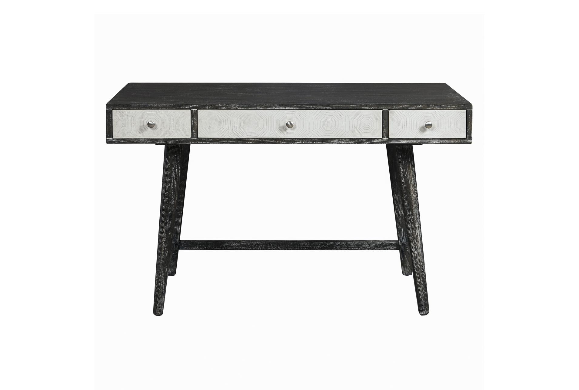 Image of: Black White Mid Century Modern 48 Desk Living Spaces