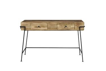 "Rustic Wood + Metal 48"" Desk"