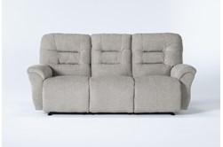 "Zara Fabric Power Reclining Space Saver 86"" Sofa"