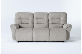 "Zara Fabric Power Reclining Space Saver 86"" Sofa"