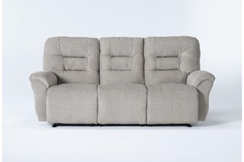 Zara Fabric Power Reclining Space Saver Sofa