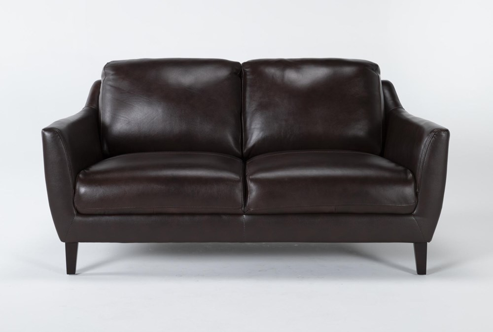 "Gigi Leather 65"" Loveseat"